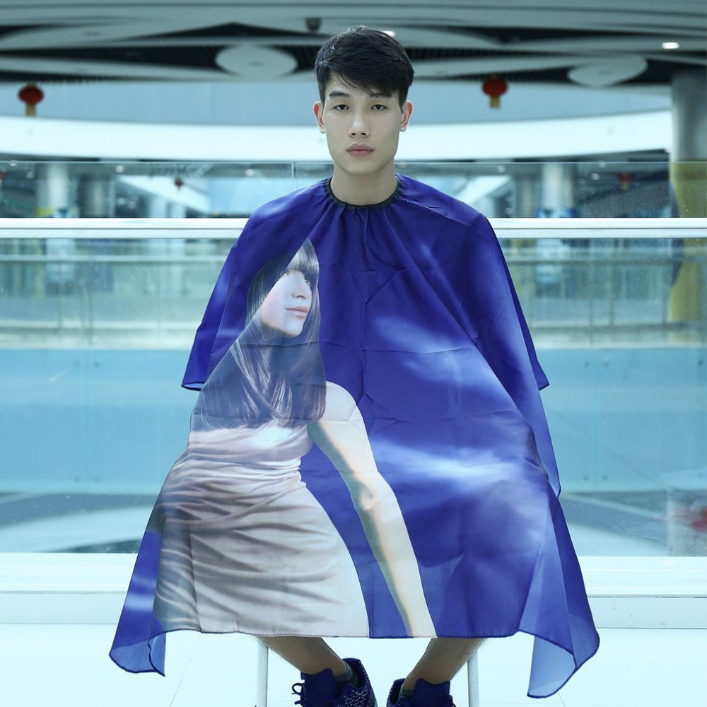 Waterproof Cutting Hair Cloth wrap Salon Barber Gown Cape Hairdressing Haiardresser Hair styling tools