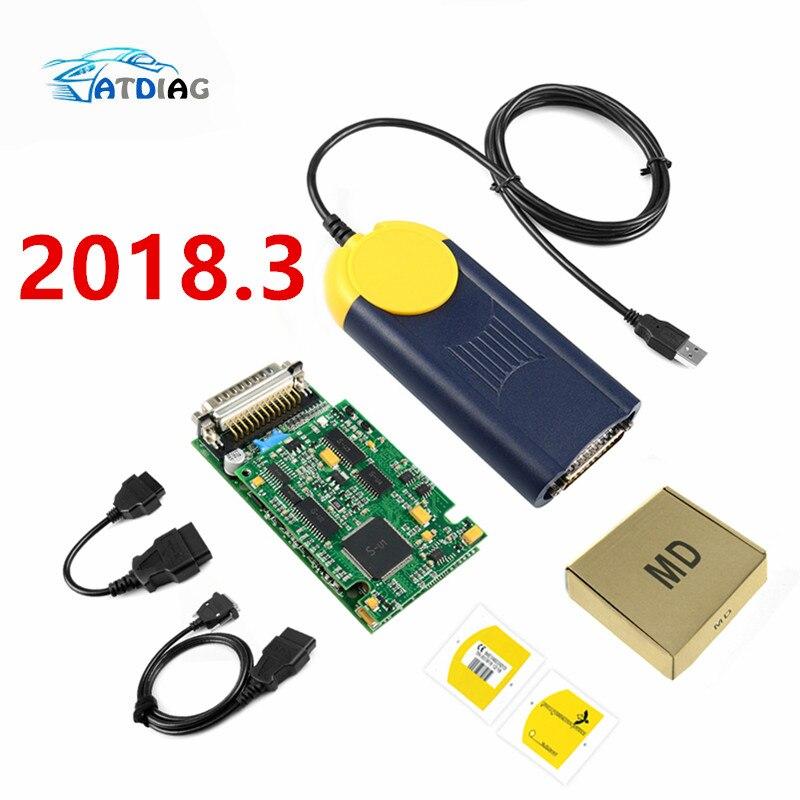Diagnostic tool Multi Diag Multi Diag Access J2534 interface OBD2 Device Multidiag J2534 with free shipping