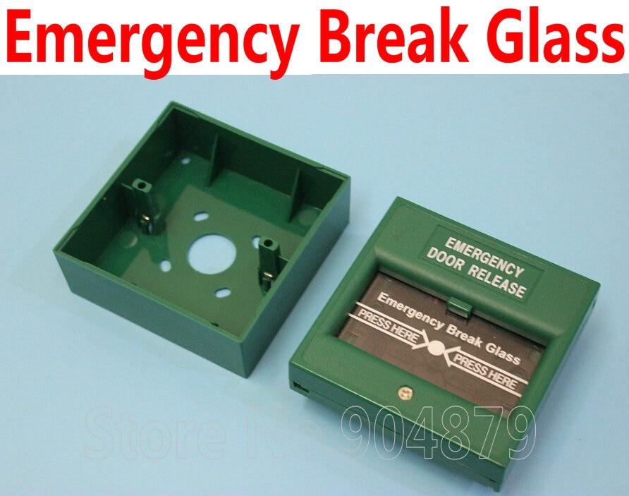 Emergency Break Glass Fire Push Button Access Control Emergency Door