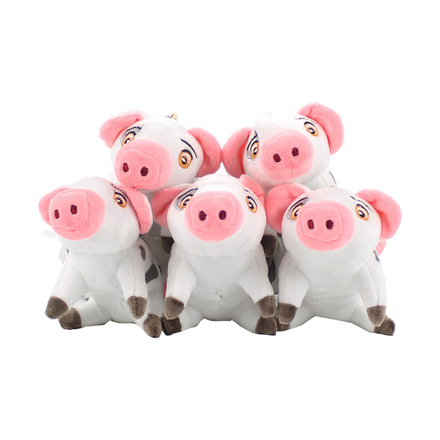 16cm moana pig plush toy pua pig soft stuffed animal dolls pendants