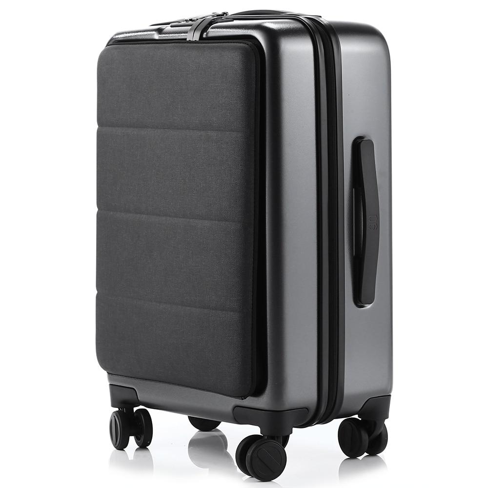 Xiaomi Business valise de voyage cabine d'ouverture de 20 pouces avec roue universelle bagages à poignée réglable anti-rayures - 2