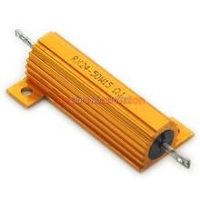 (2 pcs/lot) 15 OHM 50W Wirewound Aluminum Housed Resistor, 50 Watts.
