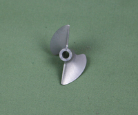 Rc Propeller CNC Machined Alloy 444 Prop For 3 16 4 76mm Shaft Rc Boat