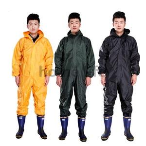 Image 1 - ファッションオートバイレインコート防水 · 耐油/防塵/シャムレインコート/オーバーオール核分裂レインスーツレインコート