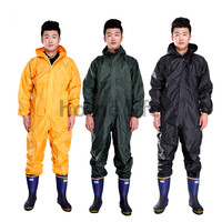Mode motorrad regenmantel Wasserdicht und öl beweis/staub proof /Conjoined regenmantel/overalls spaltung regen anzug regen mantel