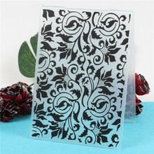 Lace Flowers Plastic Template Embossing Folder For Scrapbooking Photo Album Greeting Card Gift Box Making