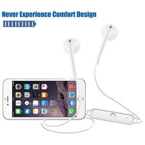 Image 4 - Sport z pałąkiem na kark bezprzewodowe słuchawki muzyka słuchawki douszne zestaw głośnomówiący Bluetooth słuchawki z mikrofonem dla wszystkich telefonów Samsung Huawei