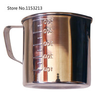 Thickening 304 Stainless Steel Measuring Cup 200ml Milk Tea Cup Coffee Liquid Measuring Cup With Graduated
