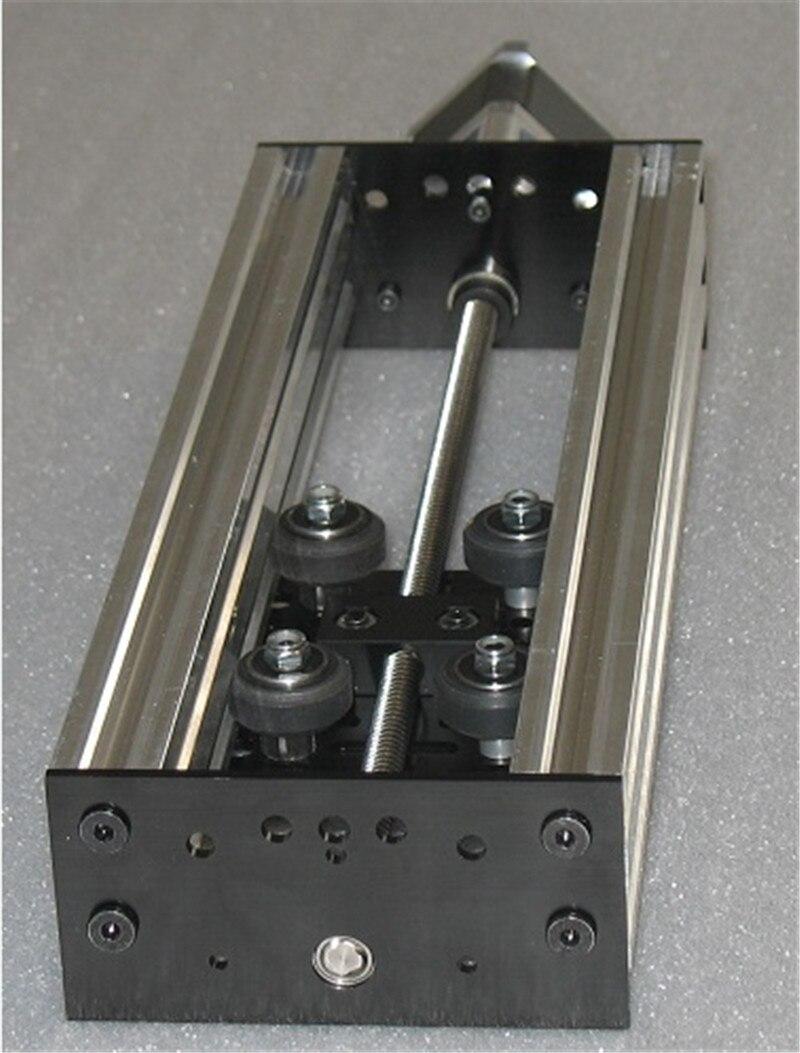 SWMAKER CNC machine parts NEMA17 NEMA23 stepper motor Z axis move router kit 300mm Actuator Kit no stepper motor