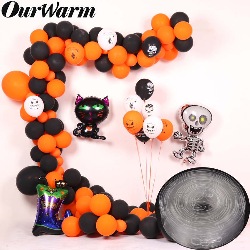 Ourwarm 5m Plastic Balloon Chain Arch Decor Wedding Backdrop Birthday Party Baby Shower Balloons Accessories