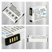 SLB-11A 11A SLB11A baterias de lítio Para SAMSUNG WB5000 TL320 TL240 WB650 HZ35W ST1000 ST5000 ST5500 EX1 câmera Digital Bateria