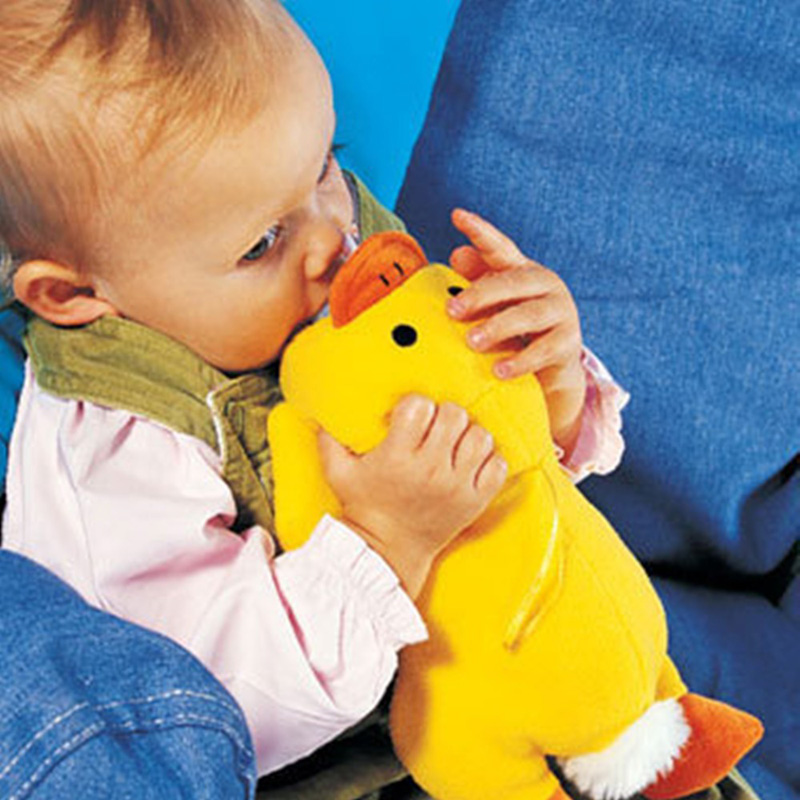 Cute Yellow Duck Plush Toys Baby Bottle Huggers/Baby Feeder Cover/Infant&Toddlers Feeding Bottle Bag//Baby Bottle Case JH-566