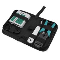 Network Repair Tool Kit Ethernet Computer Maintenance Network Tool Wire Cutter Crimping Pliers Network Tester And Cable Clamp