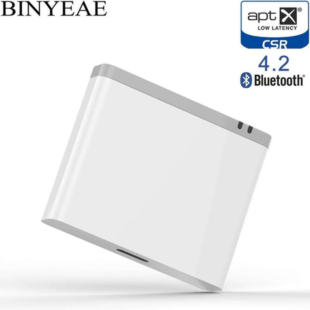 8pin Bluetooth 4.2 Aptx faible latence 8 pin récepteur de musique Stéréo adaptateur audio pour Bose SoundDock 3 III XT foudre haut-parleur