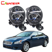 Cawanerl 1 Pair 100W H11 Car Halogen Fog Light DRL Daytime Running Lamp 12V Styling High