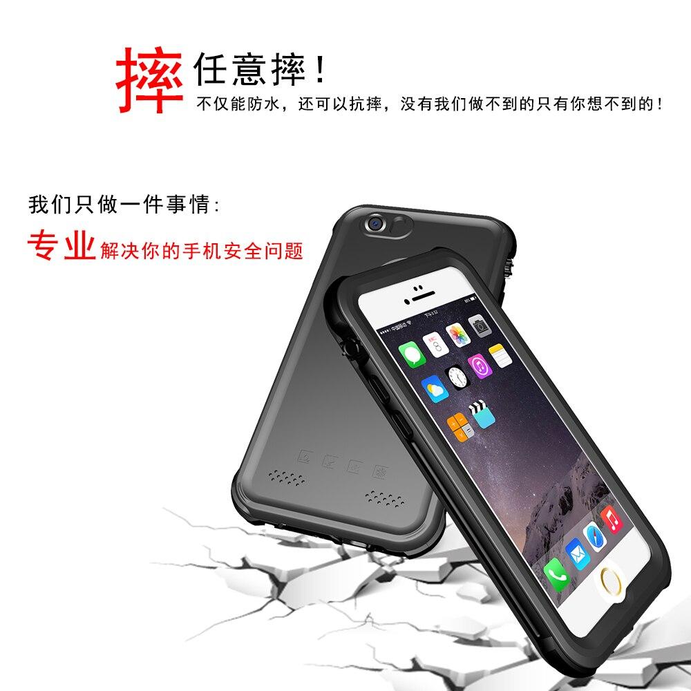 Цена за Телефон Чехол для Iphone 5/5S Ultra Slim с Водонепроницаемый ударопрочный Жесткий Smooth Touch Cover Экстрим Защиты для Iphone 5SE