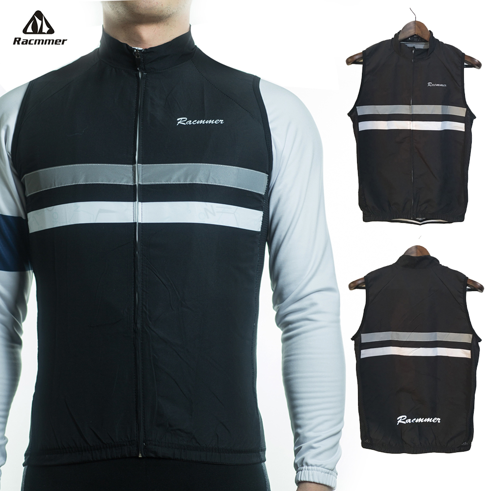 Racmmer 2018 Windbreaker Windstopper Sleeveless Cycling Jersey Clothing Bicycle Bike Windproof Maillot Chaleco Ciclismo 9 Colors