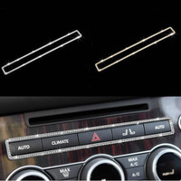 Silver/Gold Center Gear Button Cover Trim For Range Rover Sport For Range Rover Vouge Car Accessories