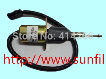 Wholesale Fuel shut down solenoid 3932546 SA-4639-24, 24V,3PCS/LOT FREE SHIPPING BY DHL,UPS,FEDEX,TNT недорого