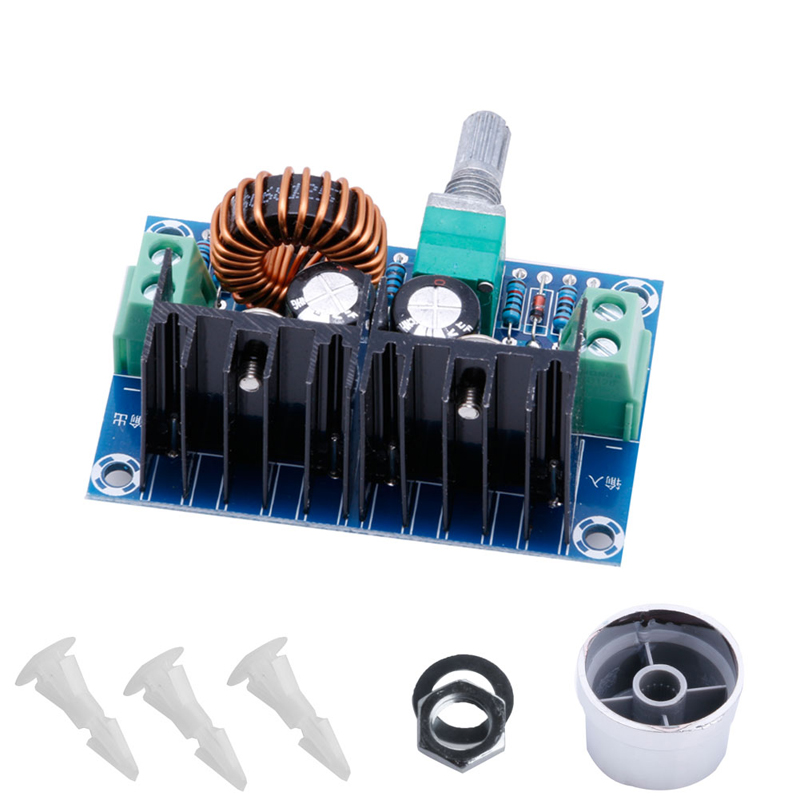 Self-Conscious Dc-dc Buck Converter 5v-40v To 1.2-36v 8a 200w Adjustable Step Down Power Module High Standard In Quality And Hygiene Electrical Equipments & Supplies