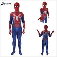 24 часов доставка Out мужские Amazing Spider-man фильм классический костюм спандекс лайкра Зентаи костюм боди для Хэллоуина Вечерние