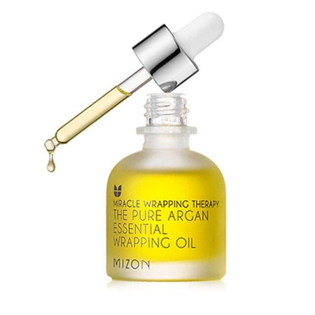 MIZON The Pure Argan Essential Wrapping Oil 30ml  Face Skin Care Moisturizing Anti-aging Anti Wrinkle