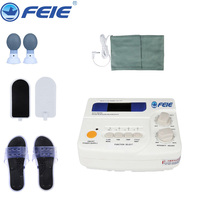 110V/ 220V Electronic Therapy Massager Relax Device Tools Slippers Body Massager Acupuncture Health Care FE 24 Free Shipping