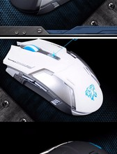 OPEN-SMART Cordless Scroll Wireless Mouse Gaming Rechargable Mute Button Silent Click Adjustable PC for Computer Tablet Mice