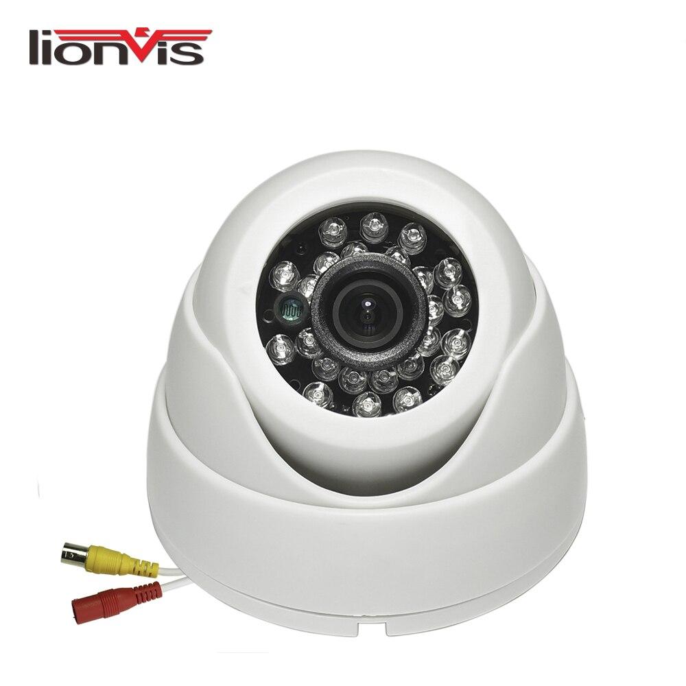 AHD Security Camera HD 720P 24 IR LED Color IR Night Vision Surveillance Dome CCTV Camera