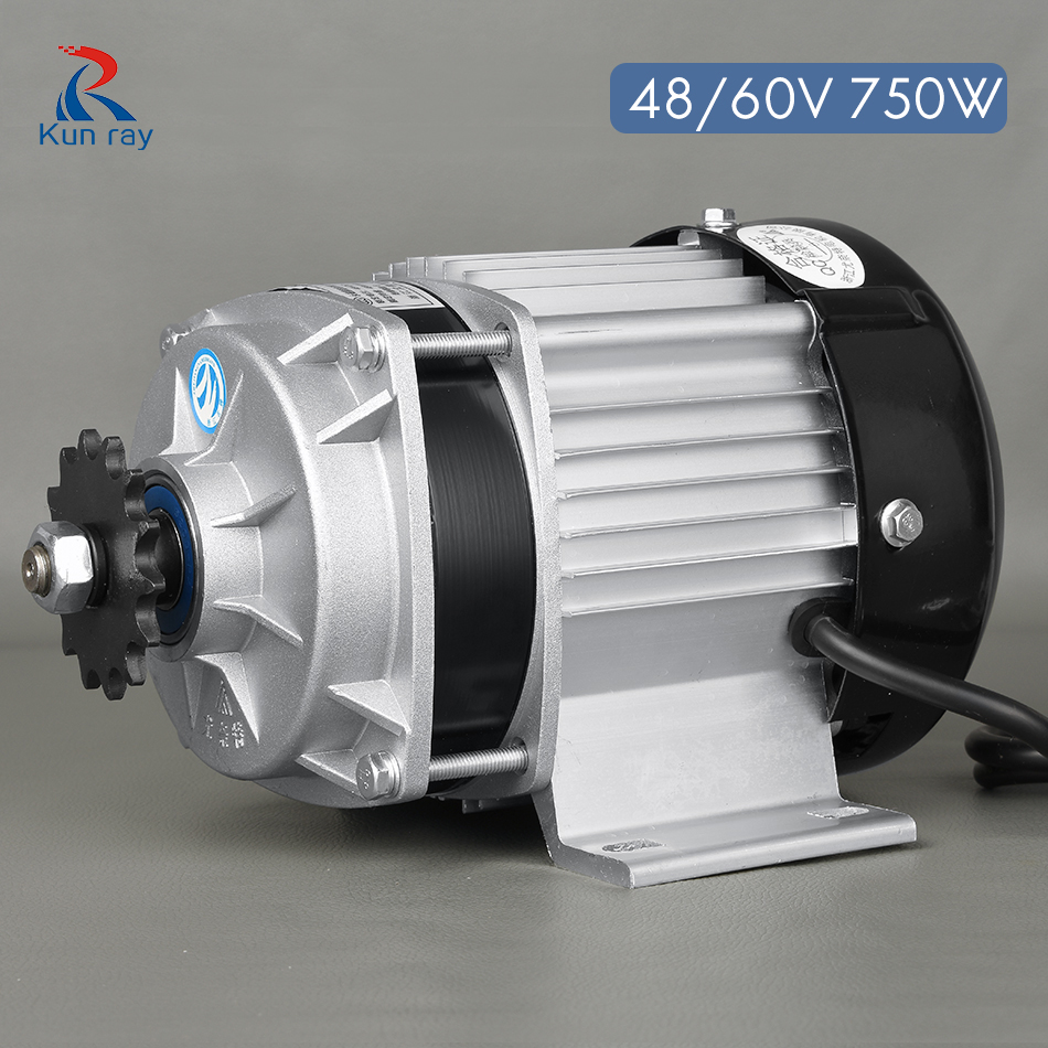 750W DC 48V 60V Brushless Motor BM1418ZXF Electric Bicycle E-Tricycle - Cycling
