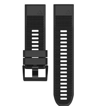 Etmakit Watch Band Soft Silicone Strap Replacement Watchband for Garmin Fenix 5X Plus Smartwatch NK-Shopping