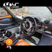 Accesorios de estilo de coche dinero frontal de acabado mate fibra de carbono seca ajuste Interior para 08-11 Exige s2 Elise S2 Interior Trim