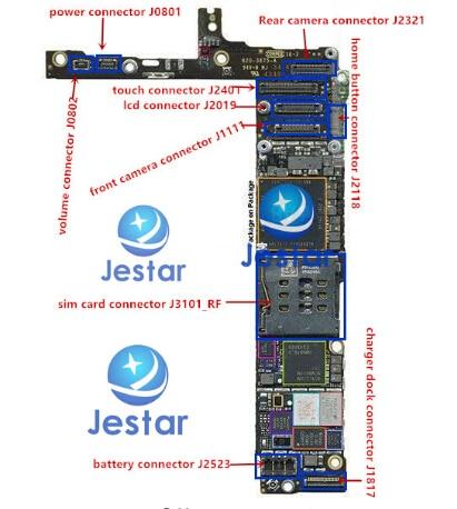 Pleasant Iphone 6 Logic Board Diagram Wiring Diagram Wiring 101 Orsalhahutechinfo