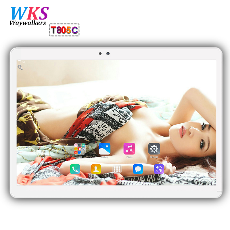 10 inch 3G/4G phone tablet pc Android 7.0 Octa Core RAM 4GB ROM 64GB 1920*1200 Dual SIM Card WIFI Bluetooth Children's tablets 你好 法语4 学生用书 配cd rom光盘