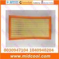 O envio gratuito de Alta qulality Filtro de Ar PARA 0030947104 1040940204