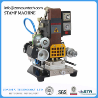 ZY 819K Automatic Stamping Machine Leather LOGO Creasing Machine LOGO Stamper High Speed Name Card Embossing