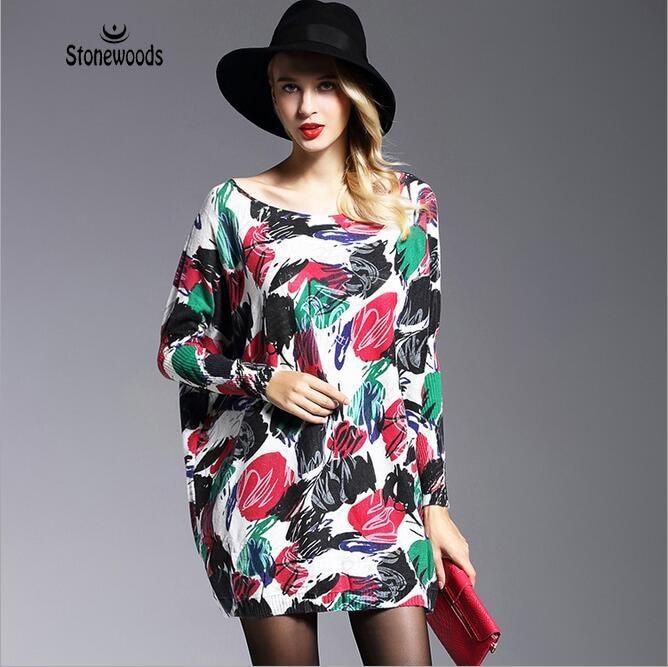 7b7ec23df5 Unif Koreański Kobiet Dzianiny Swetry I Pulowery wzrusza swetry Sweter dla  kobiet spadek mody Sweter Z Dzianiny jumper Długi Spadek