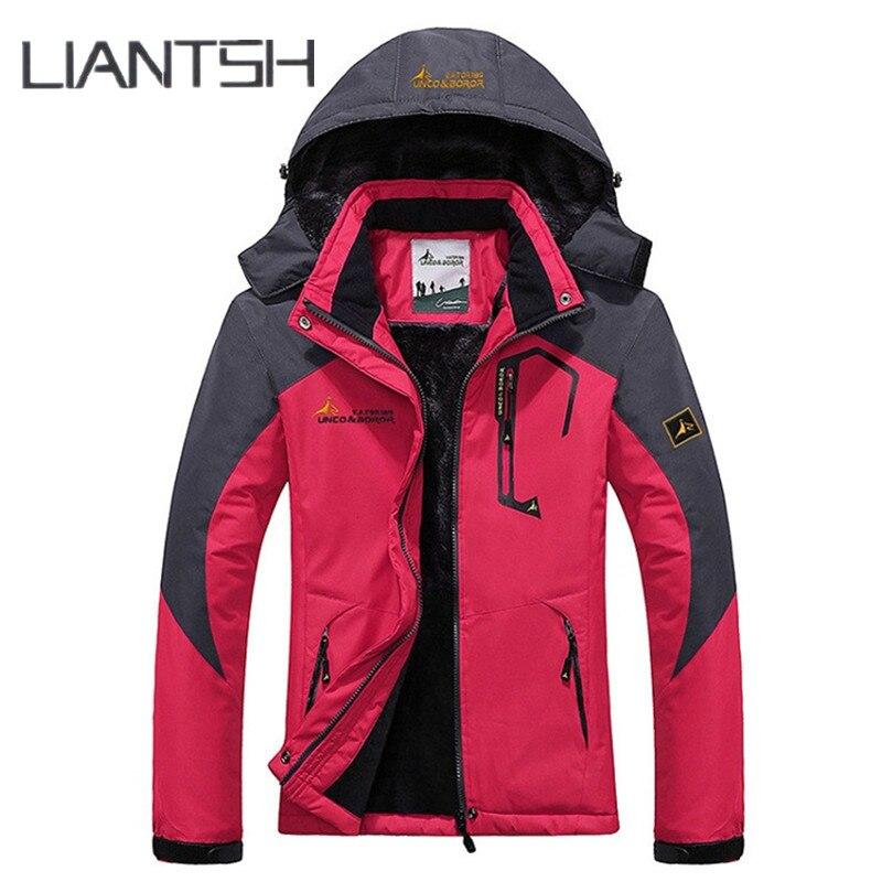 Meilleur laine Liner chaud hommes Camping randonnée en plein air veste d'hiver femmes, unisexe coupe-vent imperméable coupe-vent femmes veste en plein air