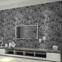 3D Creek Rock Stone Wallpaper Rockwall Wall Paper Roll W525