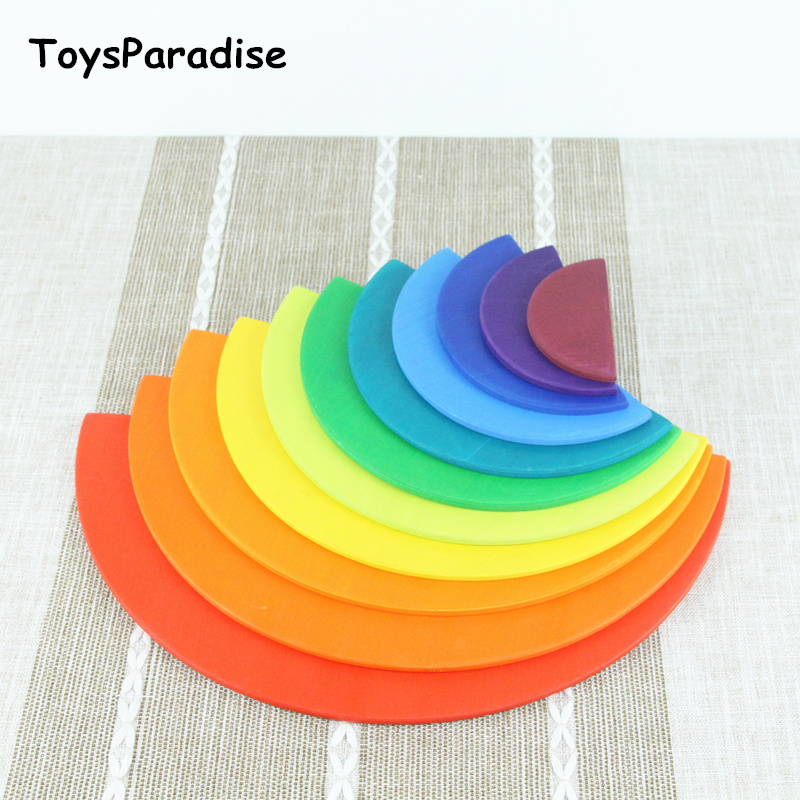 11Pcs Semicircle Rainbow Blocks Wooden Toys For Kids Matching With 12Pcs Large Rainbow Blocks Building Storage Cabinets Gift11Pcs Semicircle Rainbow Blocks Wooden Toys For Kids Matching With 12Pcs Large Rainbow Blocks Building Storage Cabinets Gift