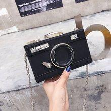 Camera Shape Clutch Shoulder Bag