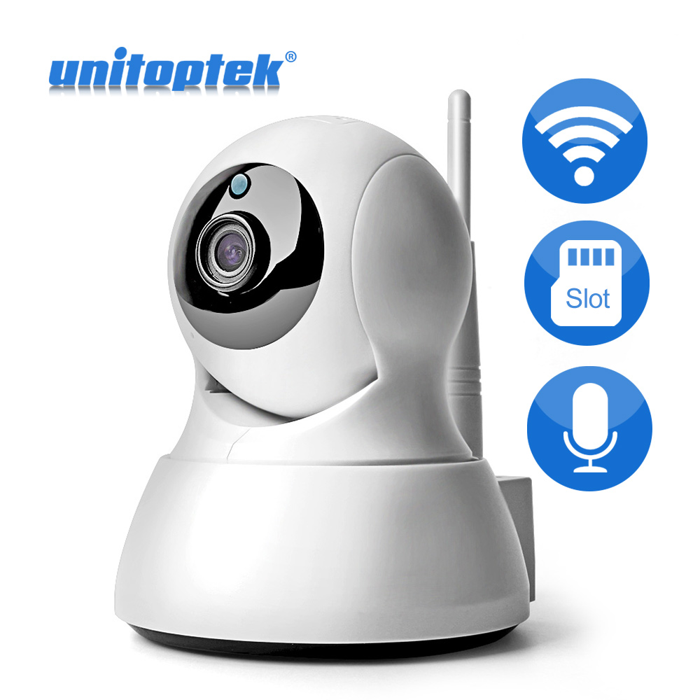 HD 720P 1.0MP WIFI PTZ IP Camera IR-Cut NightVision Two Way Audio CCTV Security Smart Cameras Wireless P2P Cloud View Indoor Use jcwhcam 720p ptz wifi ip camera wireless home security cctv surveillance camera p2p ir infrared two way audio baby monitor