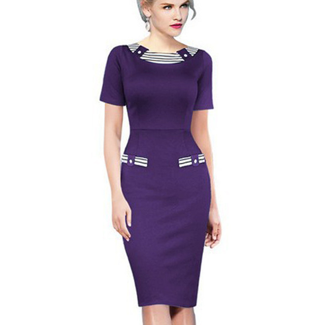 2016 Ladies Chic Navy Style Elegant Formal Office Suits Work ...