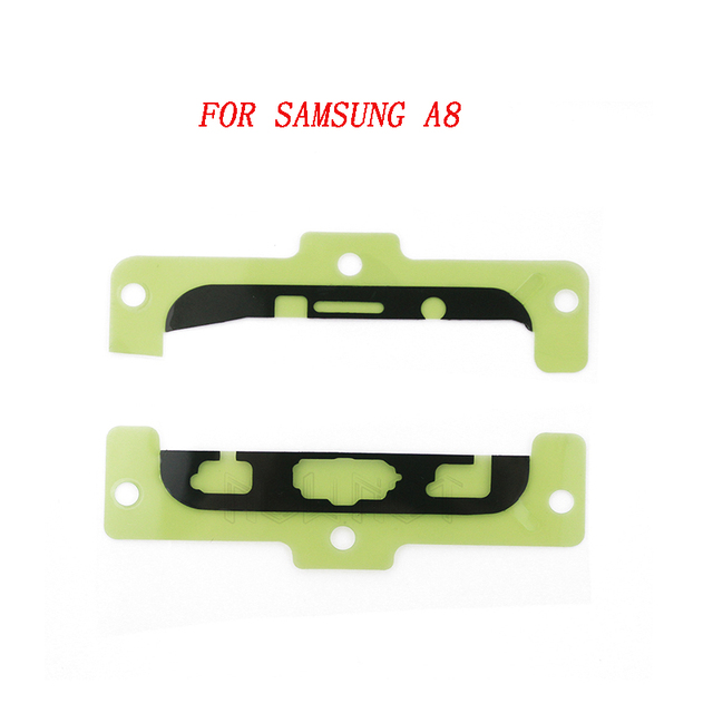 For Samsung A8 A3100 A5100 A7100 Note 5 S7 Edge 5 PCS/lot Front LCD Display Up and Down Sticker Adhesive Glue Tape  FreeShipping