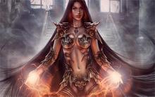 Cheap Fantasy Warrior Girl