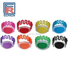 100pcs/lot Waterproof ABS RFID 13.56Mhz Wristbands Bracelet with FM1108 (S50) in Swimming Pool and Access Control цены