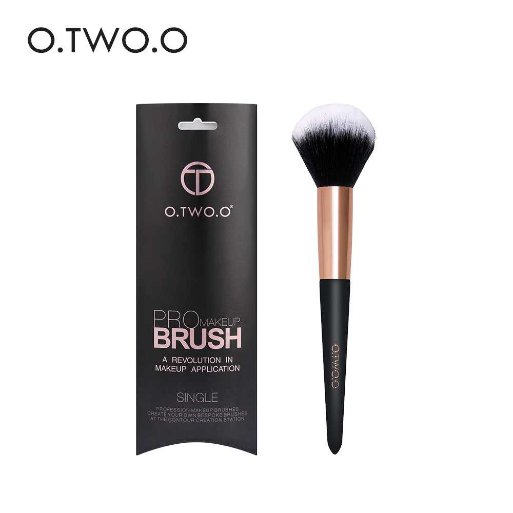 O.TWO.O Professional Large Powder Brush Classic Makeup Brush Beauty Essential Cosmetic Brush Soft Synthetic Hair Make Up ToolsO.TWO.O Professional Large Powder Brush Classic Makeup Brush Beauty Essential Cosmetic Brush Soft Synthetic Hair Make Up Tools