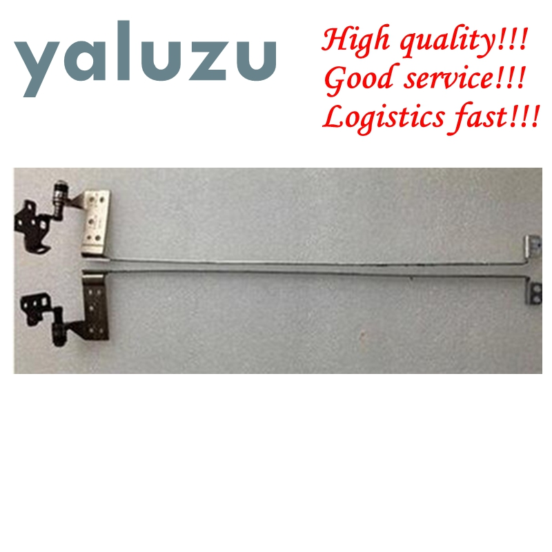 YALUZU NEW Laptop LCD Right & Left Hinges For HP DV7-7000 Laptop LCD Hinges Set L & R 681977-001 34.4SU02.01X 34.4SU02.02X