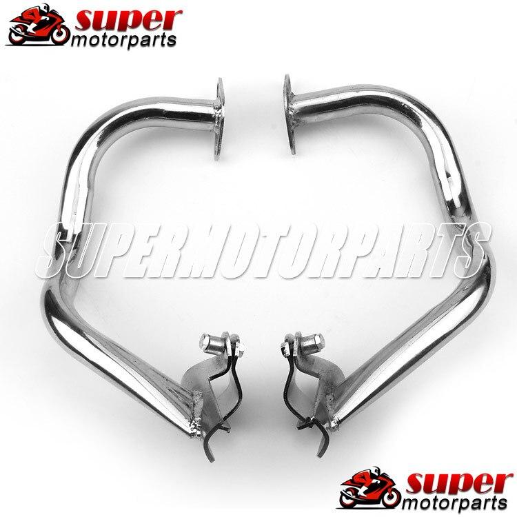 Motorcycle Crash Bars Engine Guard Protective Frames For Honda CB400 92-98 For Yamaha XJR400 93-97