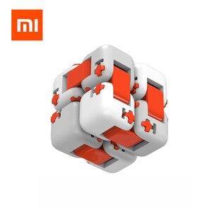 Image 2 - Xiaomi Mitu 큐브 회 전자 손가락 벽돌 지능 완구 스마트 손가락 완구 휴대용 스마트 홈